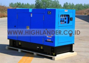 Genset Super Silent Perkins