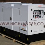Genset Perkins Super Silent