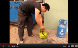 Cara Menggunakan Genset Portable Gas Elpiji 3 KG