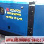 Spesifikasi Genset HL Perkins 20 KVA