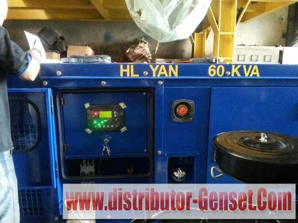 Test Commissioning Genset Yanmar 60 KVA