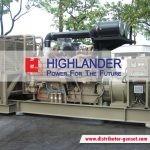 Jual Genset Open Murah Berkualitas | Highlander® Distributor Genset