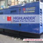 Jual Genset Silent Murah Berkualitas | Highlander® Distributor Genset