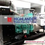 Sewa Genset Open Type | Highlander® Distributor Genset