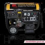 Jual Genset Portabel HL 9900 LX | Highlander® Distributor Genset
