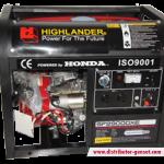 Jual Genset Portable Honda 2900 | Highlander® Distributor Genset