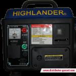 Jual Genset Portable HL 1200 LX | Highlander® Distributor Genset