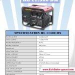 Jual Genset Portable HL 11.500 DX | Highlander® Distributor Genset