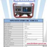 Jual Genset Portable HL 3500 LX | Highlander® Distributor Genset