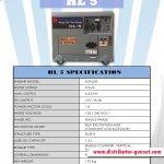 Jual Genset Portable HL 5 | Highlander® Distributor Genset