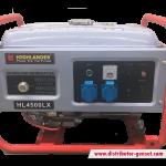 Jual Genset Portable HL 4500 LX | Highlander® Distributor Genset