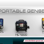 Jual Genset Portable ( Genset Rumah Tangga ) | Highlander® Distributor Genset