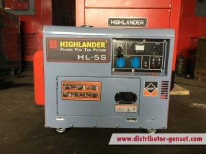 Genset portable mini